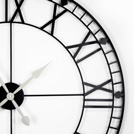 Relógio Black Metal