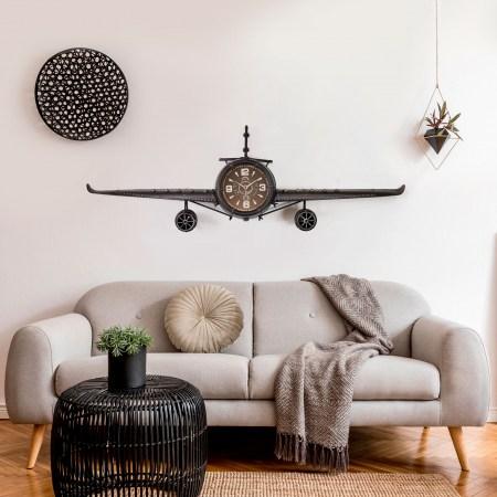 Relógio Avião