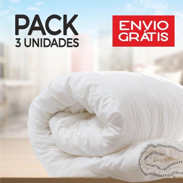 Pack 3 Édredons